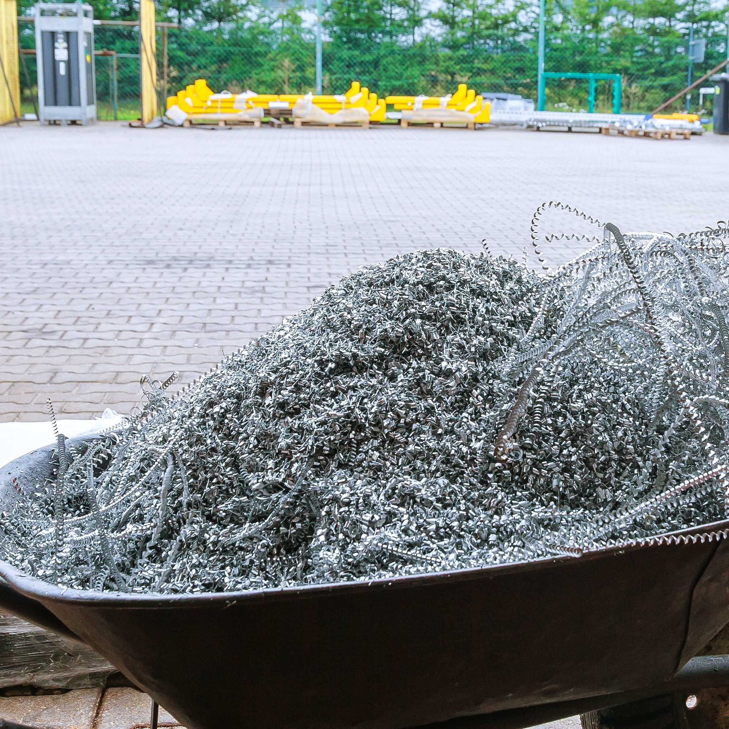 Vađenje prilikom sečenja aluminijuma
