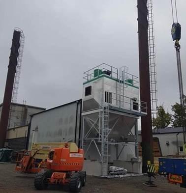 Filtracija dimnih gasova kotlova na biomasu